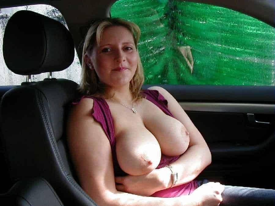 big tits and race cars