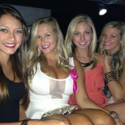 Teifer Ausschnitt Partygirls