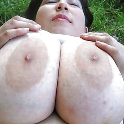 schöne dicke Brustwarzen