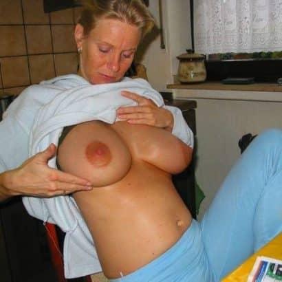 Hängen meine Brüste