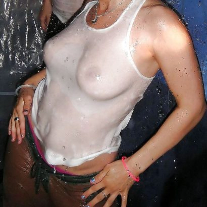 Geiles Wet T Shirt