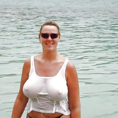 Wet T Shirt dicke Dinger