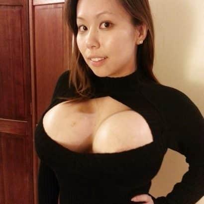 Asiatische Pralle Titten