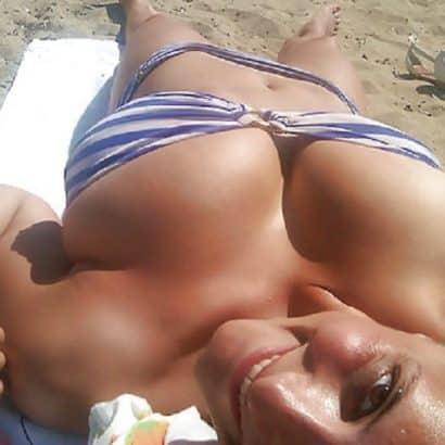 Sand Pralle Titten
