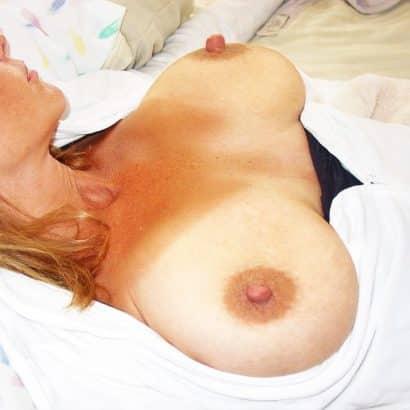 Muttis Brustwarzen