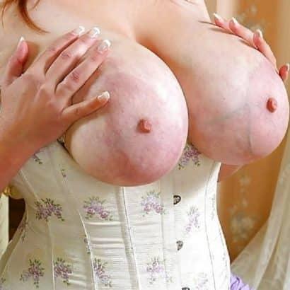 Adern an Brüste
