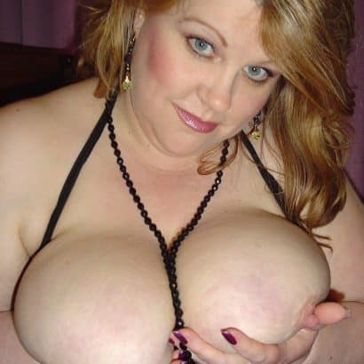Big Tits in der Hand