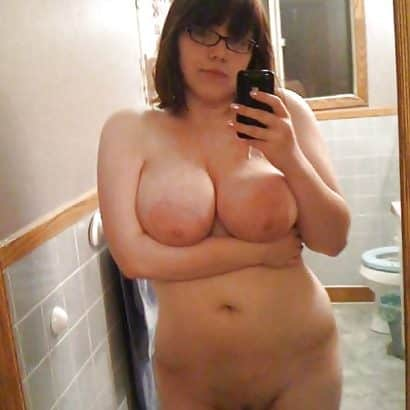 Dicke Euter Selfie