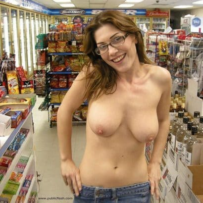 Bilder von Brüsten im Supermarkt