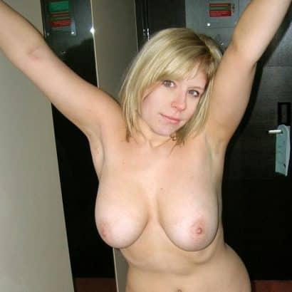 blondine Dicke Glocken