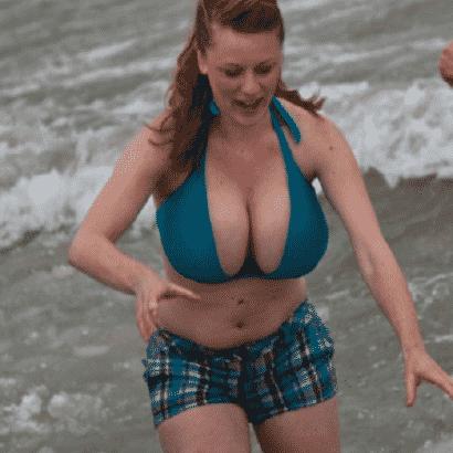 Titten im Meer