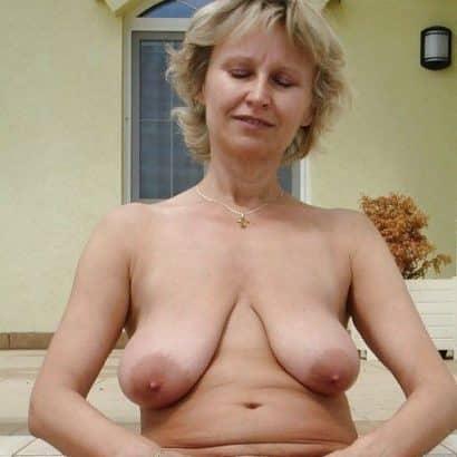 Hängende Brüste