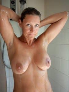 Titten Dusche