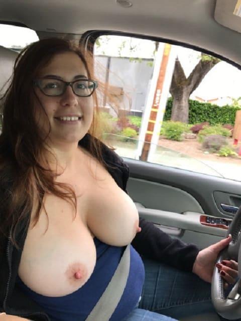 Nackt auto frau im Meine Nackte