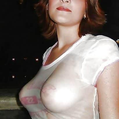 Heißes Wet T Shirt
