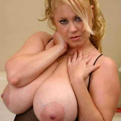 Dicke Frauenbrüste