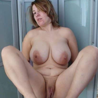 Frauenbrüste und Fotze