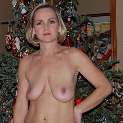 Hängebrüste an Weihnachten