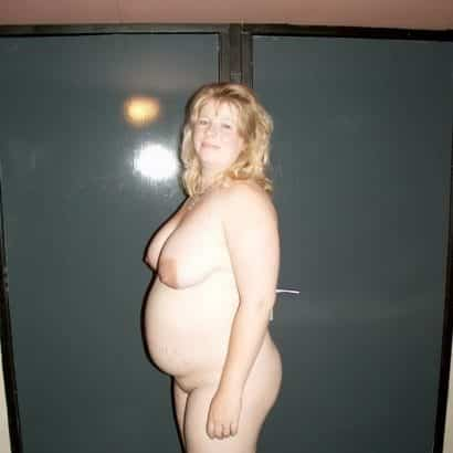 Schwangere Brüste Foto