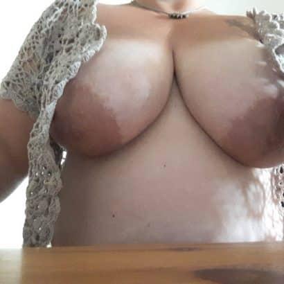 Brüste einer Userin