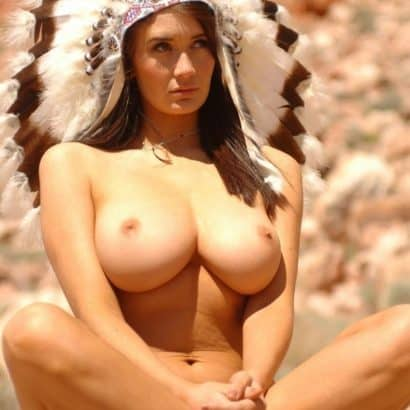Indianer Silikon Titten