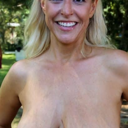 Hängende Big Tits