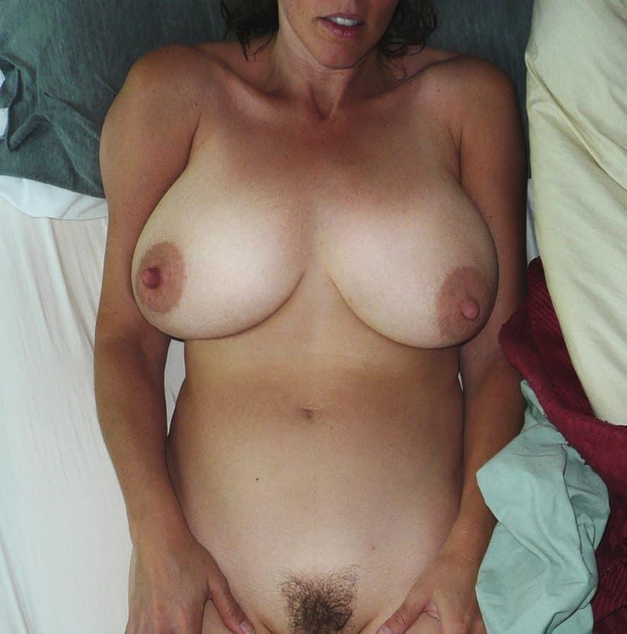 Haarige Titten